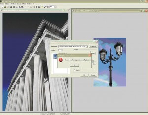 Microsoft Photo Editor : Mémoire insuffisante