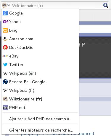 Exemple de plugin de recherche